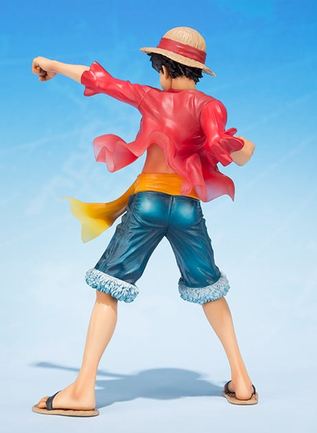 Figurine Zero Monkey D. Luffy de One Piece, édition 5ème anniversaire !
