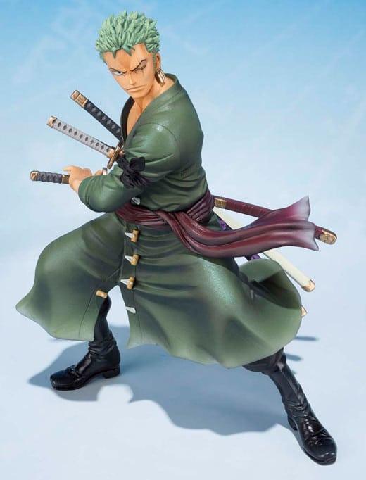 Figurine Roronoa Zoro (collection «Figuarts Zero»), édition spéciale 5ème anniversaire : disponible ç la vente !