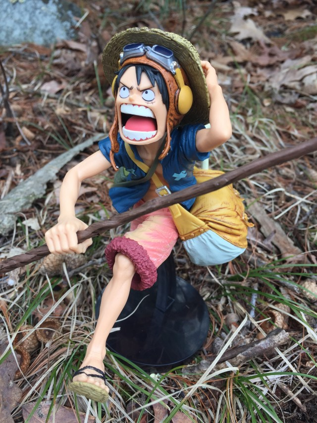 Figurine Luffy « Strong World »