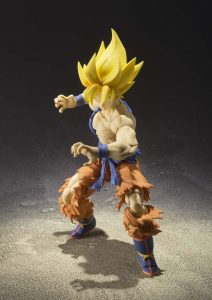 figurine Super Saiyan Goku Super Warrior Awakening présentation