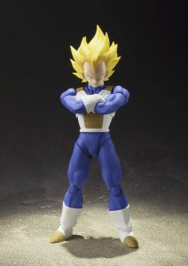 figurine Super Saiyan Vegeta présentation