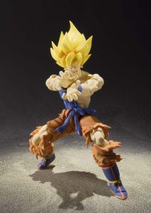la figurine Super Saiyan Goku Super Warrior Awakening